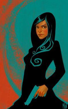 Gun Girl I by DanielaUhlig.deviantart.com