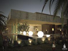 #Quinta Paraíso Salón de fiestas   Creato Arquitectos