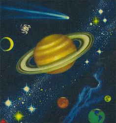"""Cover from """"Stars"""" a Golden Nature guide 1951"""