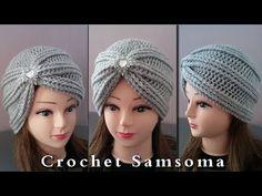 Hand Embroidery for Beginners: 10 Types of Leaves Crochet Diagram, Crochet Motif, Crochet Hooks, Crochet Turban, Crochet Beanie, Knitting Stitches, Knitting Patterns, Crochet Patterns, Sombrero A Crochet