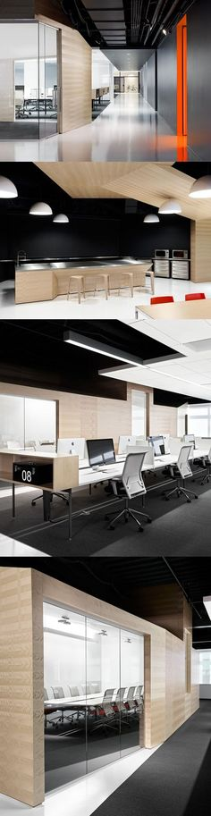 Modern and Slick Office Interior
