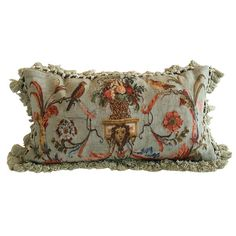 1940s fringed pillow - Google Search