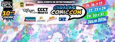 Caracas Comic 2da Semana 2016 - Caracas, Venezuela, 22 al 24 de Julio 2016 ~ Kagi Nippon He ~ Anime Nippon-Jin