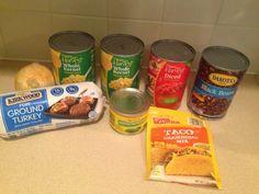 Wishes do come true...: Taco Soup Aldi recipe yummy fall recipe