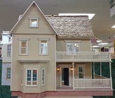 Victoria's Farmhouse Dollhouse Complete & Upscaled! [CMAF01] - $1,000.00 : Miniature Designs, Full Service Dollhouse Miniature Shop in Georgia