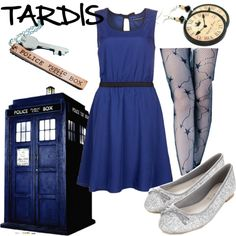 """TARDIS"" by fandom-wardrobes on Polyvore"