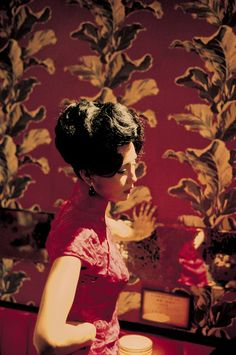 Maggie Cheung's incredibly gorgeous cheongsam dresses In the Mood for Love.