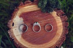 Rustic Wedding Ring Bowl