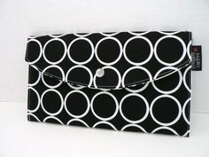Ringdot  Full Size Clutch Wallet by BagEnvy on Etsy, $14.00