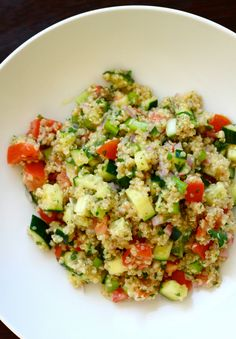 Vegetable Quinoa Sal