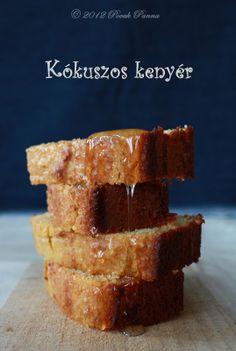 Kókuszos kenyér (paleo)