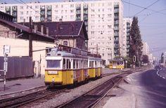 Ilyen is volt Budapest - Fehérvári út, Albertfalva-Budafok Forgalmi telep Budapest Hungary, Vintage Photos, Trains, Vintage Photography, Train