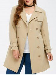 SHARE & Get it FREE | Plus Size Button Up Belted Trench CoatFor Fashion Lovers only:80,000+ Items • New Arrivals Daily • Affordable Casual to Chic for Every Occasion Join Sammydress: Get YOUR $50 NOW!