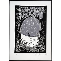 Stanley-Donwood-Winter-Smeuse-Signed-Nod-Ltd-Ed-Print