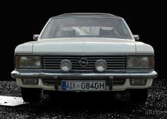 Opel Admiral 2.8 Liter E (B-Version) in black & white 1