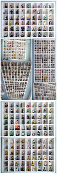 My son's lego minifigures collections. #lego #minifigures LEGO Minifigure Display