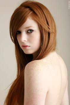 #RedHead #RedHair #Ginger #GreenEyes #Ruiva #OlhosVerdes