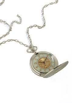 I really want this... Old and New Pocket Watch Necklace