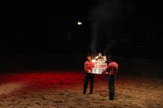 10 000ème représentation du Dîner-spectacle la Légende de Buffalo Bill - 2007