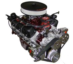 347 Ford Stroker Full Roller Crate Engine 475 HP