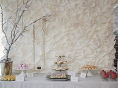Absolutely darling! Secret Garden Baby Shower (could easily be adapted to any type of party!)