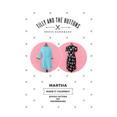 Tilly and the Buttons Martha Dress Sewing Pattern - Guthrie & Ghani