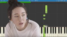 How to play Make Me (Cry) - Noah Cyrus ft. Labrinth - Piano Tutorial
