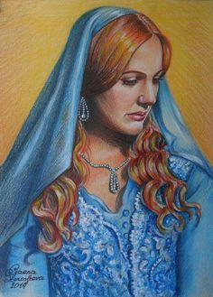 Sultan Pictures, Meryem Uzerli, Kosem Sultan, Mandala, Actrices Hollywood, Coloured Pencils, Ottoman Empire, Pencil Art, Princess Zelda