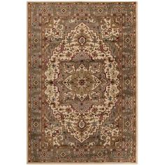 Meticulously Woven Bulloch Traditional Polypropylene Area Rug (5'3 x 7'6)   Overstock.com Shopping - The Best Deals on 5x8 - 6x9 Rugs