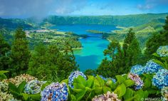 Islas Azores, Portugal  -  Azores Islands, Portugal -