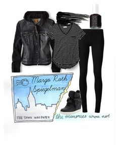 """""""Margo Roth Spiegelman"""" by ohfanyfany ❤ liked on Polyvore featuring The Row, Ash, American Eagle Outfitters, Urban Decay, Essie, Abercrombie & Fitch and papertowns"""