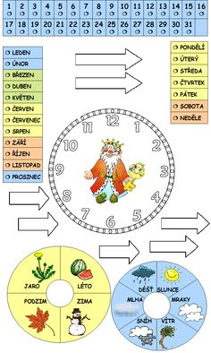 Preschool Worksheets, Four Seasons, Montessori, Teaching, Map, Children, English, Decor, Young Children