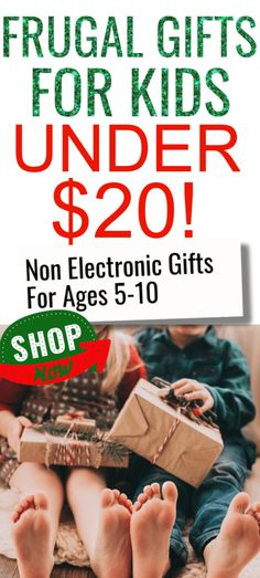 Frugal gifts for kids under $20. Non electronic gift ideas for ages 5-10. Fun, unique affordable gift ideas that won't break the bank. #1 is a MUST HAVE! Christmas Savings Plan, Christmas Shopping List, Christmas Planning, Christmas On A Budget, Christmas Presents For Kids, Family Christmas Gifts, Xmas, Game Happy, 12 Year Old Boy