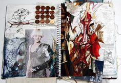 62 Ideas Fashion Sketchbook Layout Student Portfolios Mixed Media For 2019 A Level Art Sketchbook, Sketchbook Layout, Textiles Sketchbook, Fashion Design Sketchbook, Sketchbook Pages, Sketchbook Inspiration, Fashion Sketches, Sketchbook Ideas, Textiles Y Moda