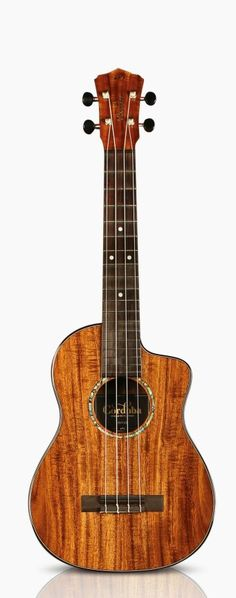 Solid acacia top, back, and sides, LR Baggs Five.O preamp Ukulele, Violin, Cordoba Spain, The Wedding Singer, Music Instruments, Acacia, Acoustic Guitars, Random Things, Porn