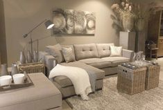 Interieur/ interior Living room in country style Youth Sports Schedules: Alerts Keep Parents in the Beige Living Rooms, Bohemian Living Rooms, Living Room Sets, Living Room Interior, Living Room Decor, Style At Home, Paris Bedroom, French Country Living Room, Bedroom Layouts
