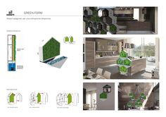 "Dai un'occhiata al mio progetto @Behance: ""Green form"" https://www.behance.net/gallery/46319563/Green-form"