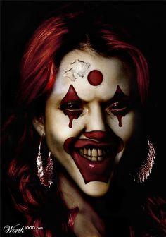 Evil Celebrity Clowns 2 - Worth1000 Contests.  Jessica Alba