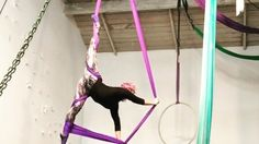 Speedy video for skill share, to see real time video of this sequence check out my new You Tube channel Aerial Gems.  #aerialsilks #organized #aerialart #aerialist #aerialnation #usaerial #aerialart #aerialdance