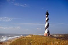 ocean outer banks | Cape Hatteras, Outer Banks, North Carolina is an island located 25 ...