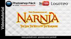 Logo Narnia Videotutorial #Photoshop Fácil by yanko0