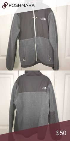 North Face fleece Worn once. No stains. The North Face Jackets & Coats