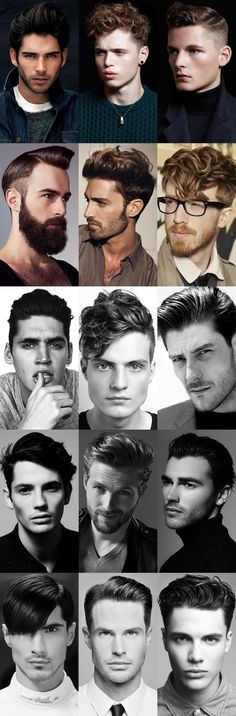 Men's Gel Hairstyles Lookbook