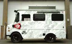 Nike NYC digicamo truck