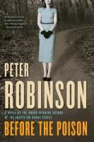 Before the Poison by Peter Robinson Review at: http://cdnbookworm.blogspot.ca/2011/11/before-poison.html