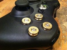 I found 'Xbox 9mm bullet button Controller' on Wish, check it out!