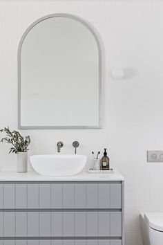 Geeze I've done some bathrooms over the last year.I calculated since I did my . Serene Bathroom, Bathroom Inspo, Bathroom Inspiration, Bathroom Ideas, Family Bathroom, Bathroom Designs, Coastal Bathrooms, Dream Bathrooms, Bathroom Renos