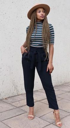 70 Casual Work Outfits For Black Women casual work outfits casual work outfits ideas ca. Casual Work Outfits, Mode Outfits, Work Casual, Classy Outfits, Chic Outfits, Fashion Outfits, Smart Casual, Outfits For Black Girls, Fashion Vest