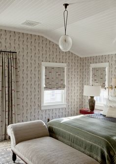 Maybe my fave bedroom in awhile - Panitch Interiors, Sorrento Project