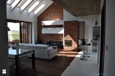 widok salonu z holu - zdjęcie od Autorskie Studio Projektowe Indygo